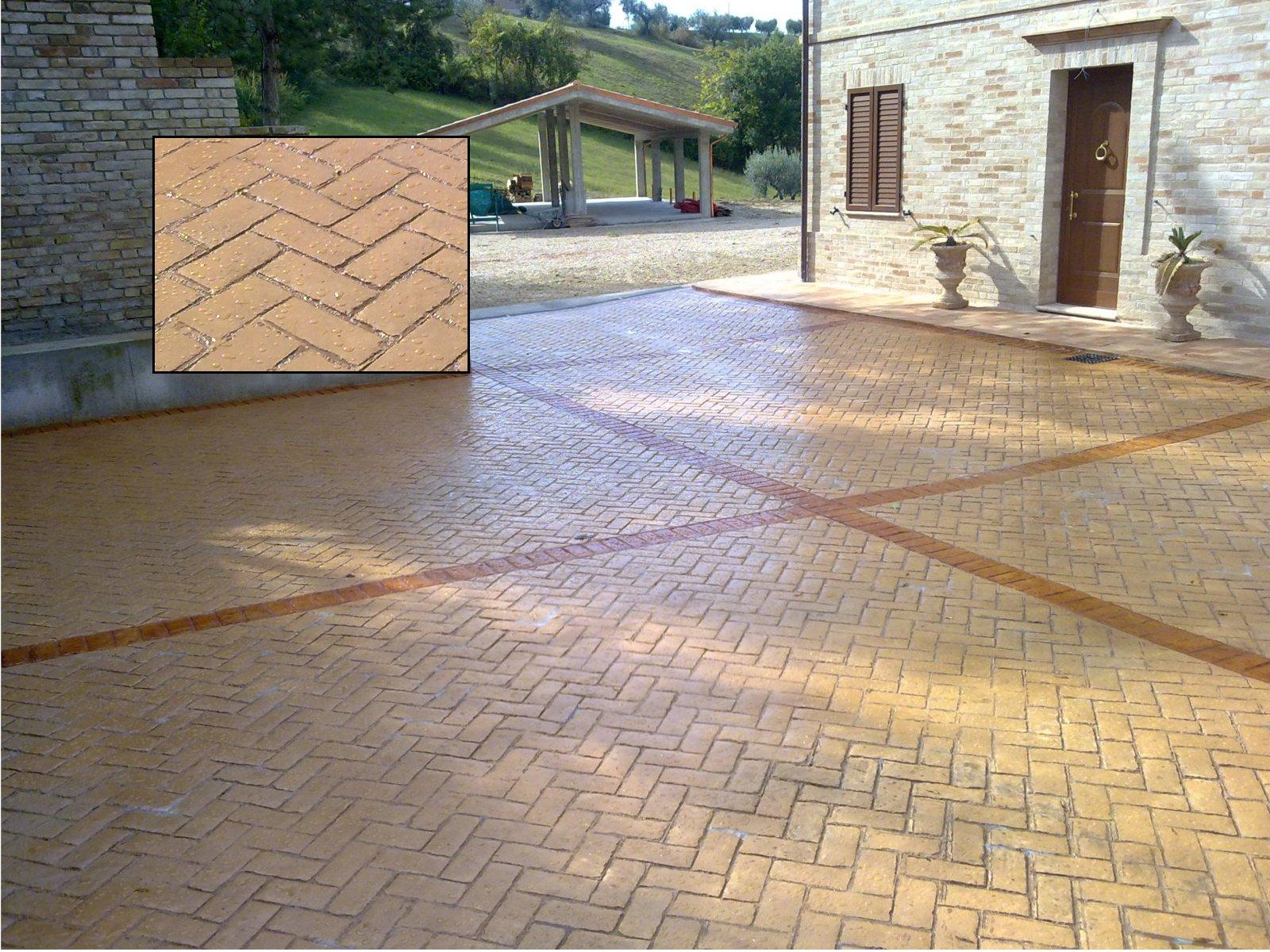 Pavimento Calcestruzzo Stampato : Pavimenti in calcestruzzo stampato edil pavim
